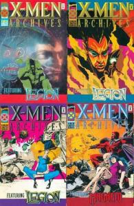 X MEN ARCHIVES (1995) 1-4  Claremont & SIENKIEWICZ