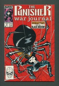 Punisher War Journal #9  / 9.6 NM+  /  October 1989