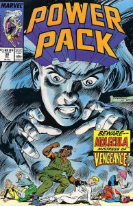 Power Pack #38 VF; Marvel   save on shipping - details inside