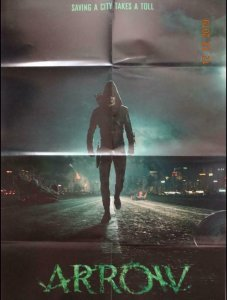 ARROW Promo Poster, 23 x 34, 2014, DC, Green Arrow, Unused more in our store 338