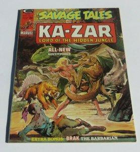 Savage Tales Ka-Zar #6 VF+ 8.5 Lord/Hidden Jungle Neal Adams Art Brak Barbarian