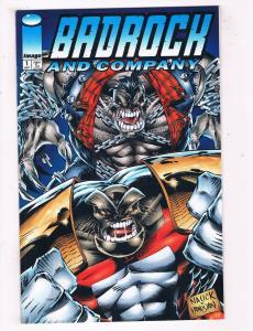 Badrock & Company #1 VF/NM Image Comics Comic Book Sept 1994 DE44