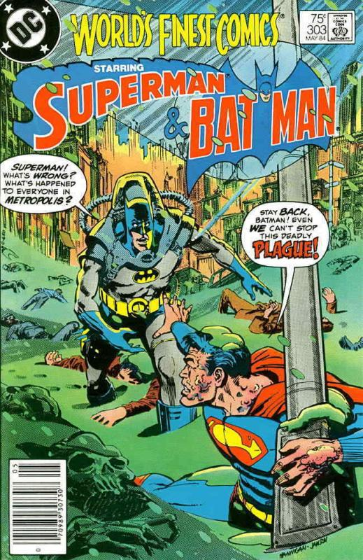 World's Finest Comics #303 VF/NM; DC | save on shipping - details inside