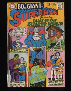 Superman #202 GD 2.0 80 Page Giant G-42!