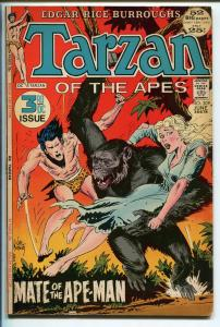 TARZAN #209 1972-DC-EDGAR RICE BURROUGHS-JOE KUBERT ART-HAL FOSTER-fn