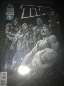 DC Titans #27 Mint Foil Cover