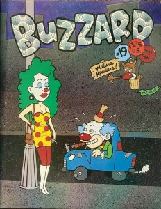 BUZZARD #19 (Cat-Head, 1998) VF James Kochalka, Phoebe Gloeckner, Steve Lafler