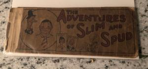 The Adventures Of Slim And Spud 1924 Mini Comic Book # 1 GD- Annie Pincher JH6