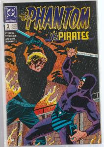 THE PHANTOM #3 - vs THE PIRATES - BAGGED & BOARDED - DC COMICS