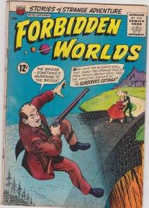 Forbidden Worlds #122