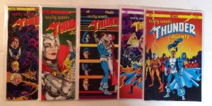 Thunder Agents 1-5 Complete Near Mint Lot Set Run