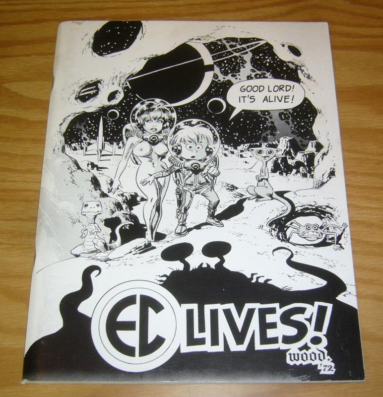 EC Lives! #1 VF- wally wood - frazetta - bill gaines - harvey kurtzman 1972