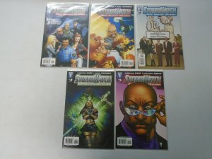 Stormwatch Post Human Division Run: #1-5 8.0 VF (2007)