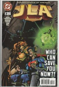 JLA #3 (Mar-97) NM Super-High-Grade Justice League of America