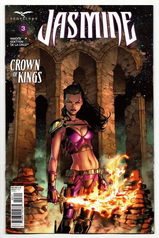Jasmine Crown Of Kings #3 Cvr A (Zenescope, 2018) NM
