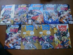9 Epic Comics Heavy Hitters LAW DOG Comic #1 2 3 5 6 (x2) 8 (x2) 10 (1993 1994)