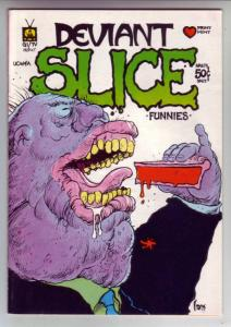 Deviant Slice #1 (Jan-72) VF/NM High-Grade Richard Nixon,Sgt Smack and Easy C...