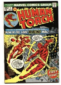 HUMAN TORCH #1-1974-1st issue-Comic Book-vg+
