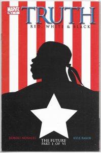 Truth Red, White and Black #1 VG/FN Robert Morales/Baker, black Captain America