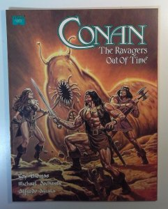 Conan: The Ravagers Out Of Time SC 1992 Marvel Graphic Novel 1st  Thomas Alcala