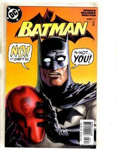 Batman # 638 NM DC Comic Book 1st Print Red Hood Gotham Joker Robin Batgirl MF19