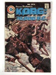 KORG:70,000 BC 1 FINE    May 1975 COMICS BOOK