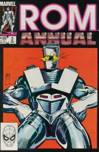 Rom Annual #2 FN; Marvel | save on shipping - details inside