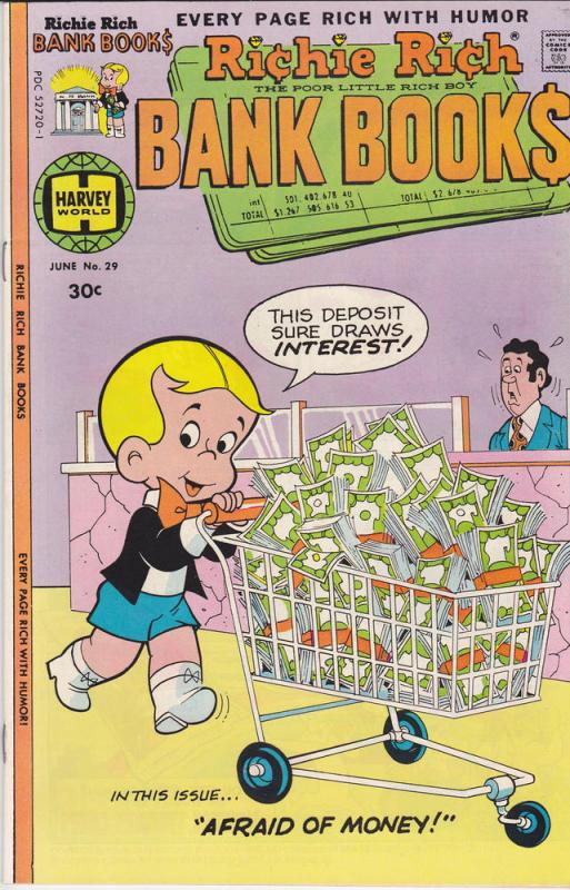 Richie Rich Bank Books #29