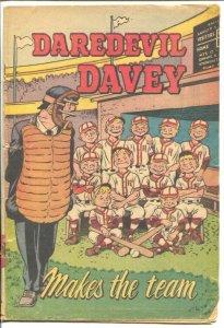 Daredevil Davey 1953-American Dental Assn-Makes The Team-not documented in pr...