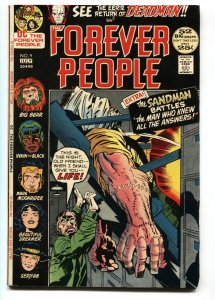FOREVER PEOPLE #9 KIRBY comic book 1972 First appearance Hiram Gaunt
