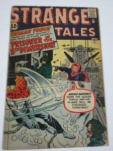 STRANGE TALES  #103 (Marvel,12/1962)   (GOOD) Human Torch!