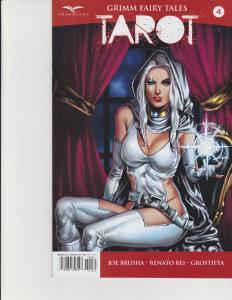 Grimm Fairy Tales Tarot #4 Cover C Zenescope GFT Comic NM Abrera