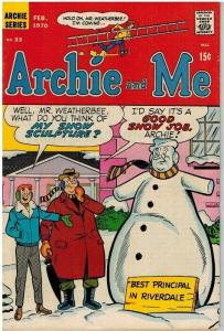 ARCHIE & ME (1964-1987)33 VG  Feb1970