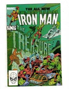 10 Iron Man Marvel Comics # 175 176 177 178 179 180 181 182 183 184 Stark J451