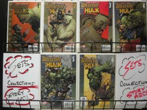 ULTIMATE WOLVERINE VS HULK (2006) 1-6  COMPLETE!