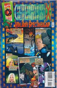 GENERATION X #4 HOLIDAY SPECTACULAR  MARVEL COMICS