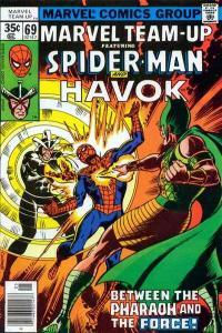 Marvel Team-Up (1972 series) #69, Fine- (Stock photo)