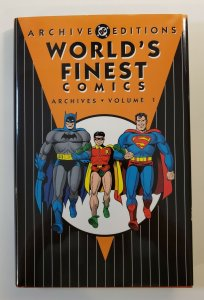 ARCHIVE EDITIONS WORLD'S FINEST COMICS ARCHIVES VOL.1 HARD COVER NM FIRST PRINT