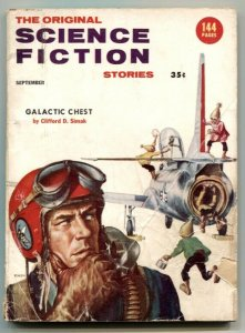 Original Science Fiction Stories September 1956- Galactic Chest