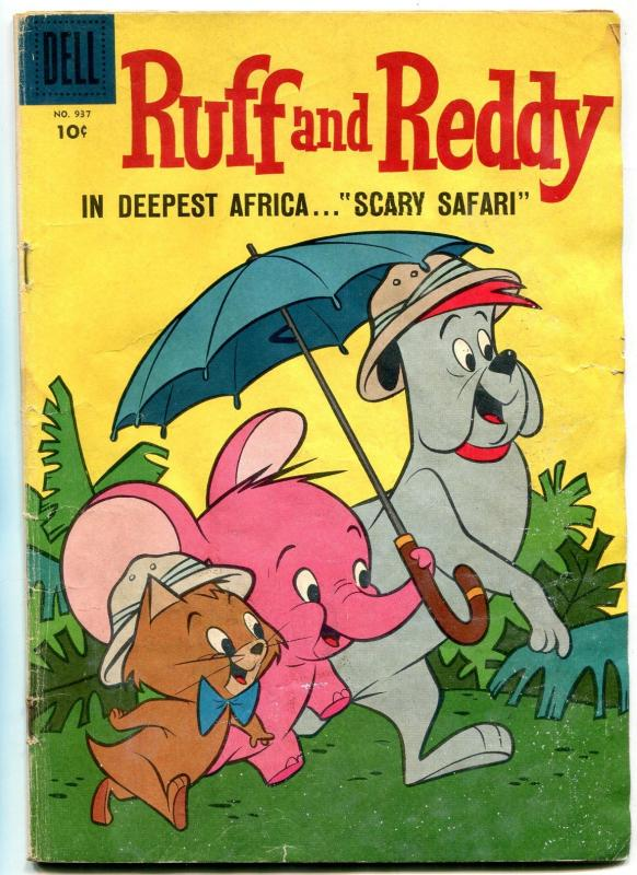 Ruff and Ready- Four Color Comics #937 1956-Dell-1st Hanna ...