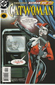 Catwoman(vol.1) # 78, 85, 86, 87, 88, 89  Harley Quinn !