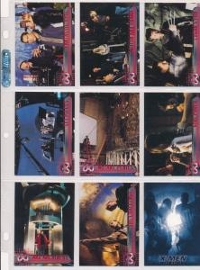 2000 Topps X-Men movie Cards Set of 72, Wolverine, Storm,Toad, Professor X etc