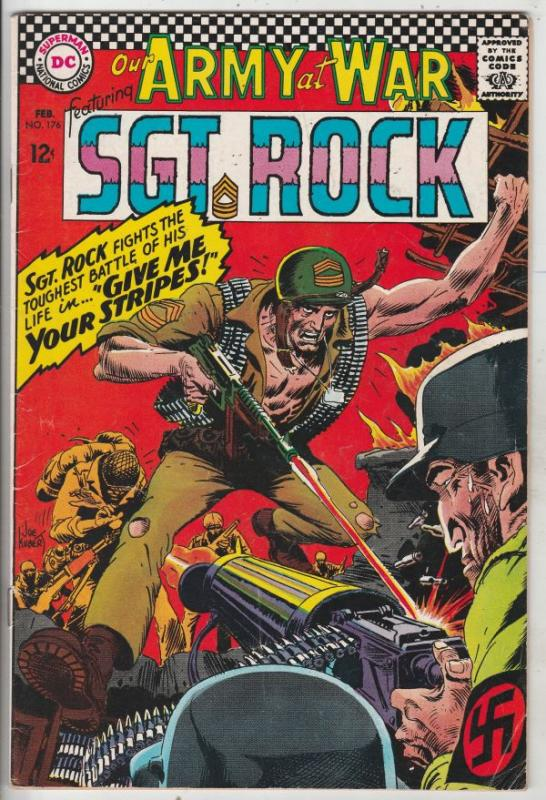 Our Army at War #176 (Feb-67) FN+ Mid-High-Grade Easy Company, Sgt Rock