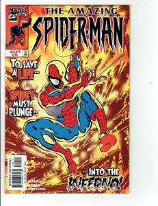 The Amazing Spider-Man #9 (450) (1999, Marvel) NM Vol 2 John Byrne Art