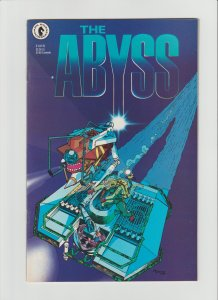 The Abyss #2 FVF (1989, Dark Horse Comics)  Art and cover by Michael Kaluta