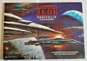 Star Wars Return of the Jedi Portfolio Ralph McQuarrie 1983 20 Plates 11X15 NM