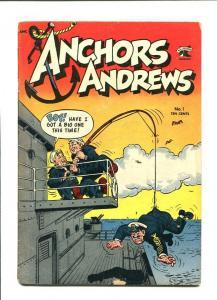 ANCHORS ANDREWS-1953-MATT BAKER ART-CANTEEN KATE VG