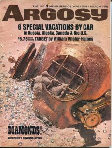 Argosy 3/1965-Biblical Treasure-Pontiac GTO-Russia by Jeep-FN