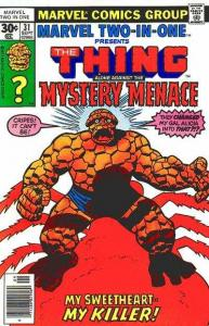 Marvel Two-In-One (1974 series) #31, Good- (Stock photo)