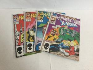 Fantastic Four Vs The X-Men 1-4 Lot Set Run Vf-Nm Very Fine-Near Mint